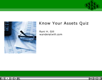 Accounting Assets Quiz Captivate