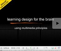 Multimedia Learning Principles Slidecast